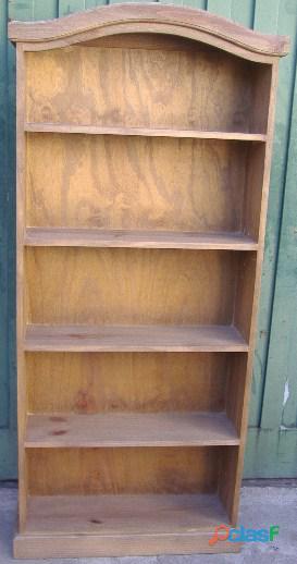 Bibliotecas de madera