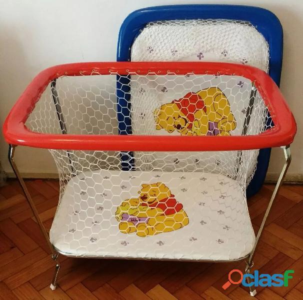 Corralito para bebes plegable poco uso