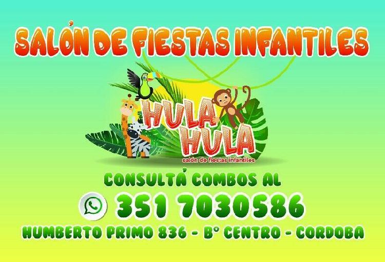 Hula hula - salon de fiestas infantiles