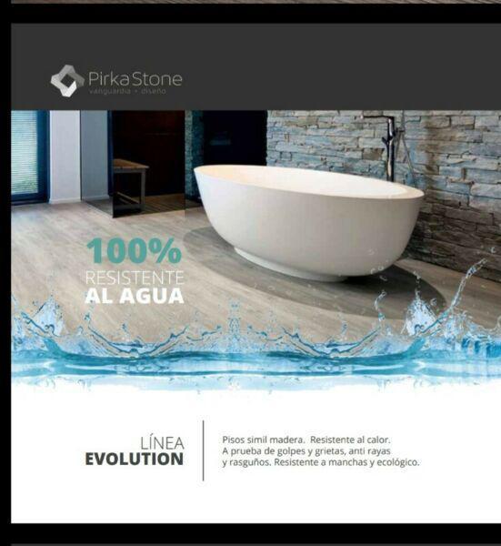 Pisos flotantes 100% resistentes al agua