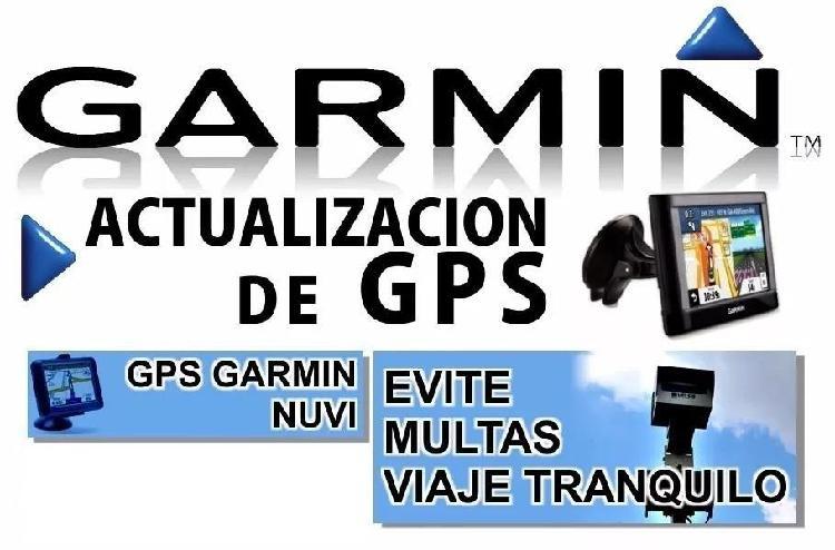 Actualización mapas gps garmin argentina limítrofes