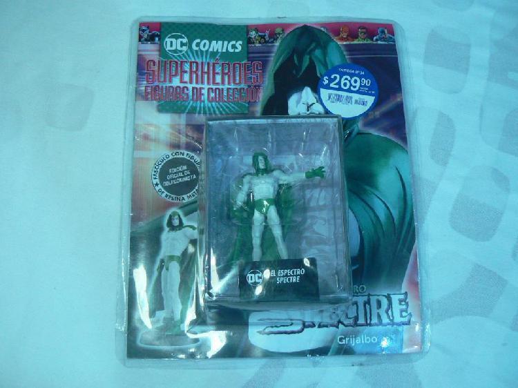 Dc comics superhéroes figuras de colección entrega n° 34