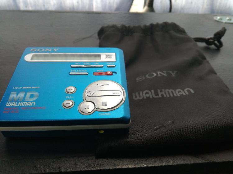 Minidisc sony mz70r reproduce y graba