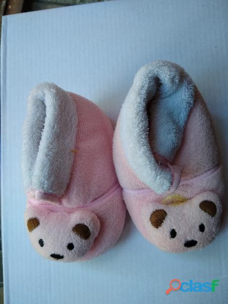 Botita beba rosa du la bel bel cara gatito nro 13 no caminante