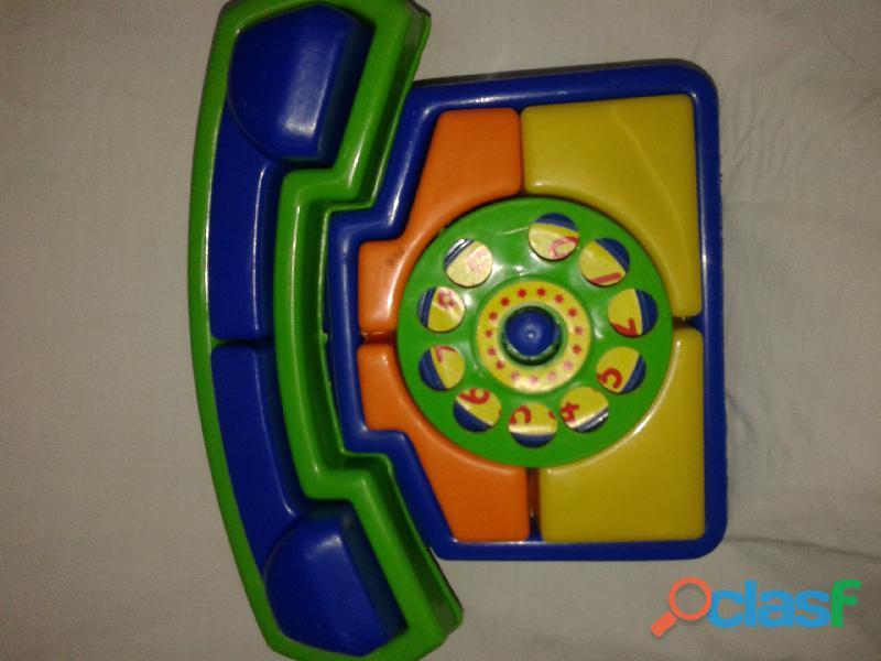 Telefono didactico 1era infancia new plast nuevo