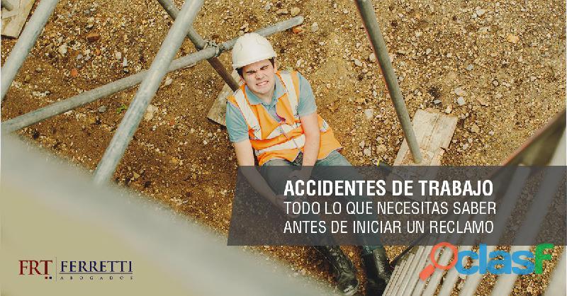 Abogados en accidentes de trabajo (art)   zona oeste   ramos mejia   san justo   isidro casanova