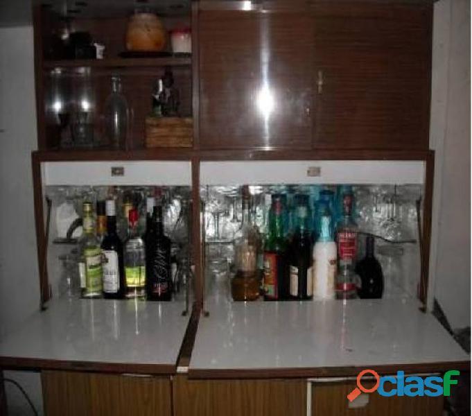 Alacena bodega bar+luz ideal lugar reducido/quincho134x90x35