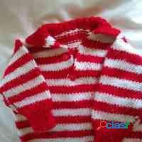 Pullovers chomba tejido artesanal 2 3 anos perfecto