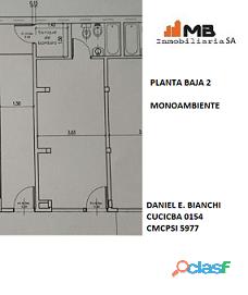 Parque chacabuco venta ph en construccion monoambiente ,pb°2