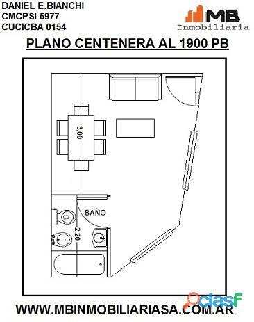 Parque Chacabuco Venta PH en construccion Monoambiente, PB°4