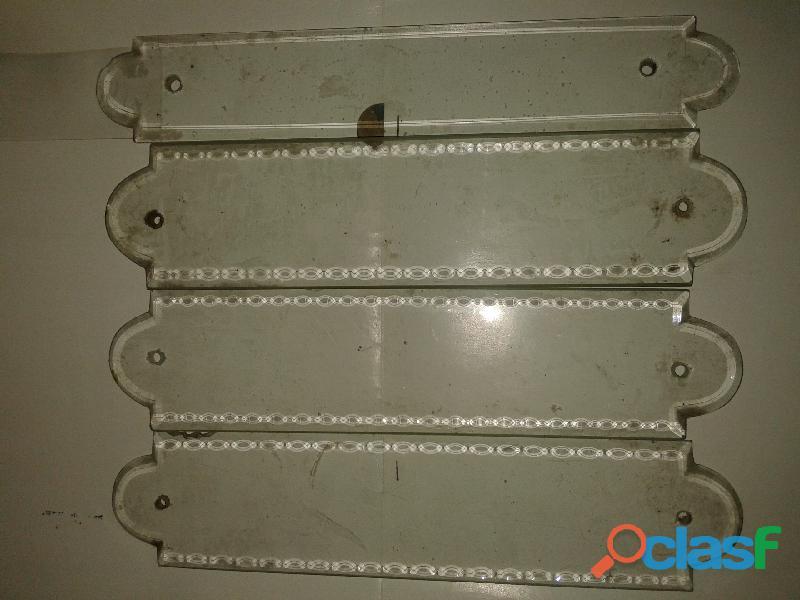 Protectores de vidrio para madera de puertas antiguedad