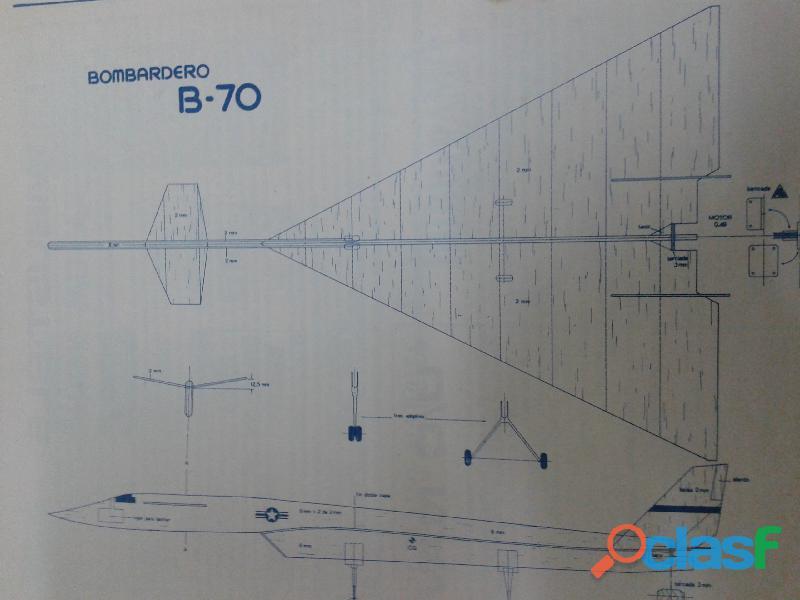 Revista ideas modelos plano aeromodelismo y velero perfecta