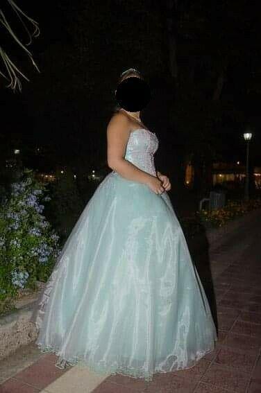 Vestido de 15 años - 3 piezas