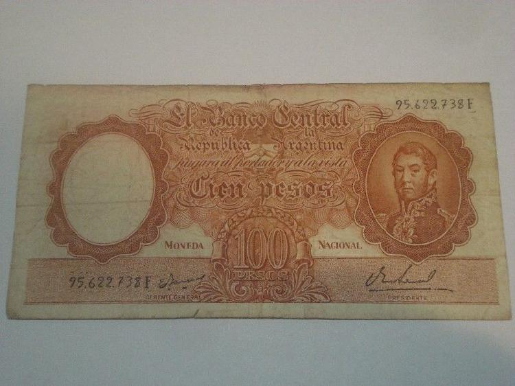 Billete antiguo argentino