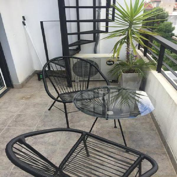Alquilo temporario en almagro, 1 amb balcón terraza 2 pax