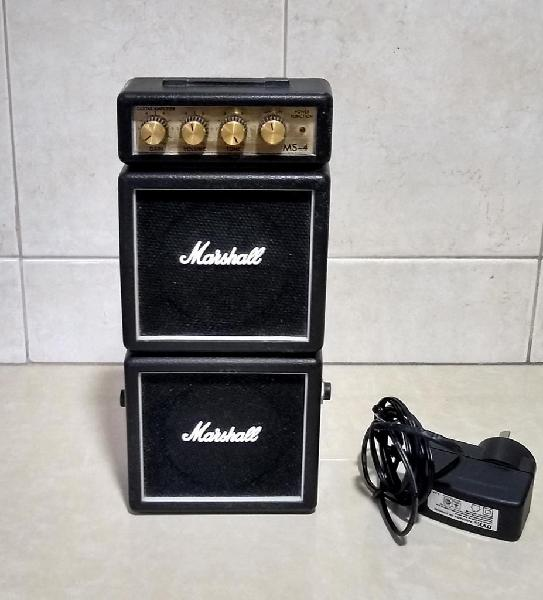 Mini amplificador marshall ms4