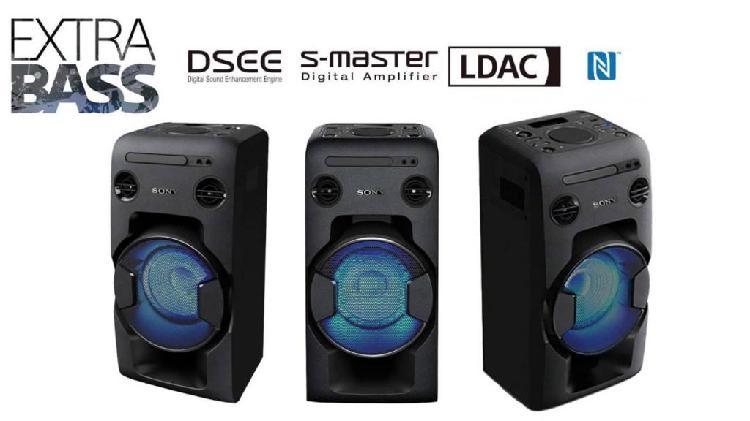 Sistema de audio sony mhcv11 parlante 470w usb bluetooth fm