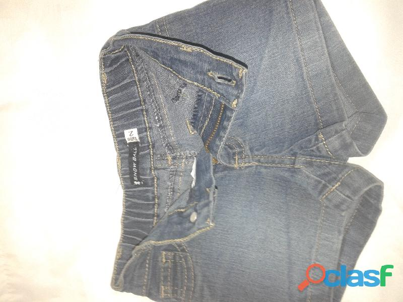 Short jean snow ball t2 bolsillo cola con mariposa perfecto