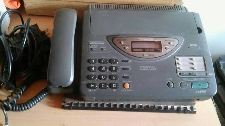 Vendo telefono faxfax panasonic con contestador automatico