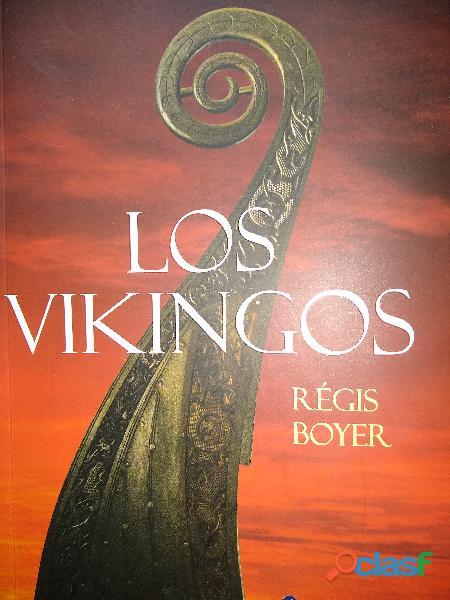 Los vikingos de regis boyer  editorial areneo  1ra edicion 2018