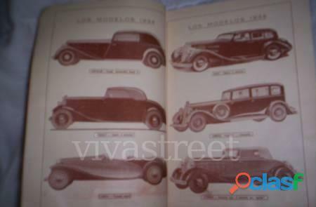 Catalogo la ruta marzo 1934fotoautos,rutas,turismo