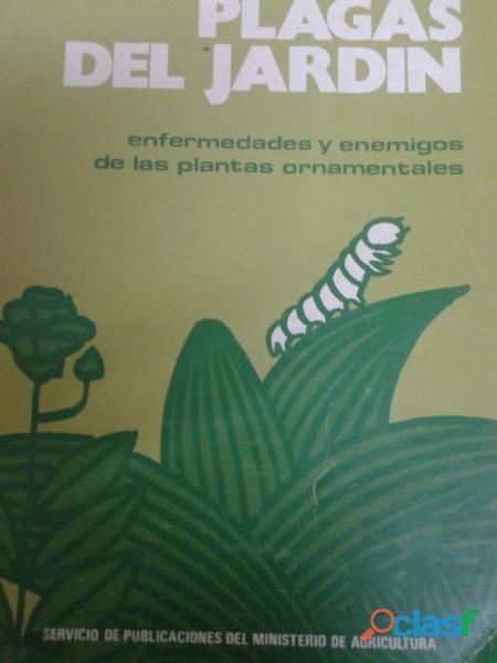 Plagas del jardin ,cañizo,arroyo para agronomos perfecto