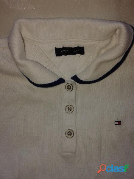 Vestido tommy hilfiger tejido algodón t 4 (2a4 años) perfecto