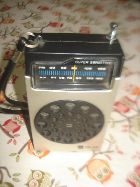 Radio sharp super sensitive am/fm funcionando completa!!