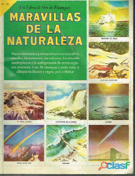 album maravillas de la naturaleza numero 50 ano 1962 perfecto