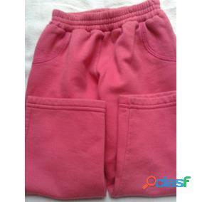 Pantalon Frisa Rojo Talle 3  Para 2 3 Años Hermoso Perfecto