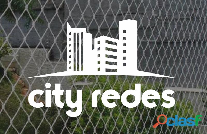 Proteccion de balcones en san insidro city redes