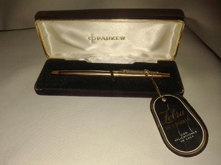 Bolígrafo parker zebra insignia original