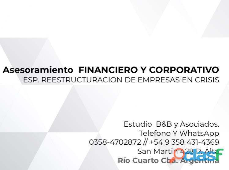 Asesoramiento financiero y gestión