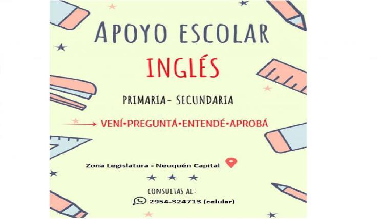 Apoyo escolar ingles!!!