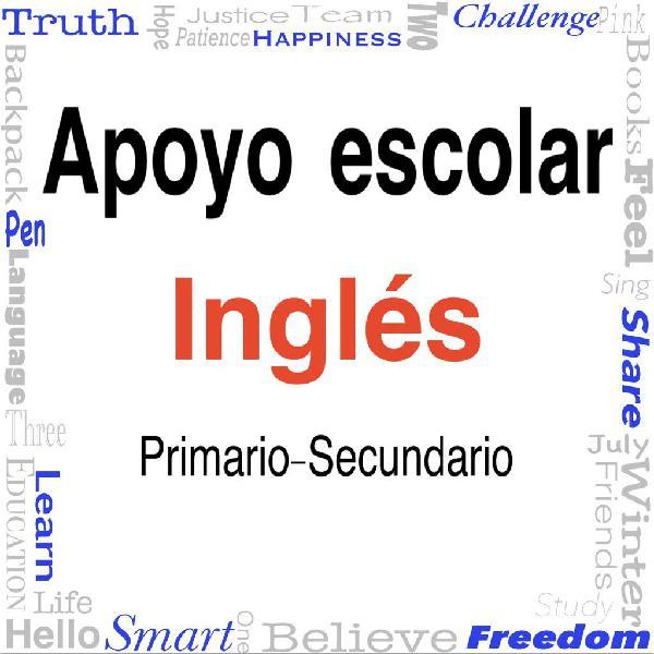 Apoyo escolar de inglés