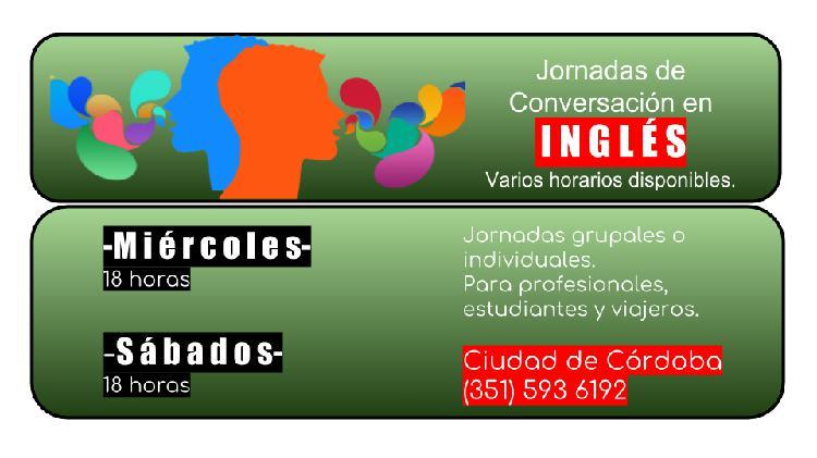 Conversación en inglés con nacional de ee.uu.