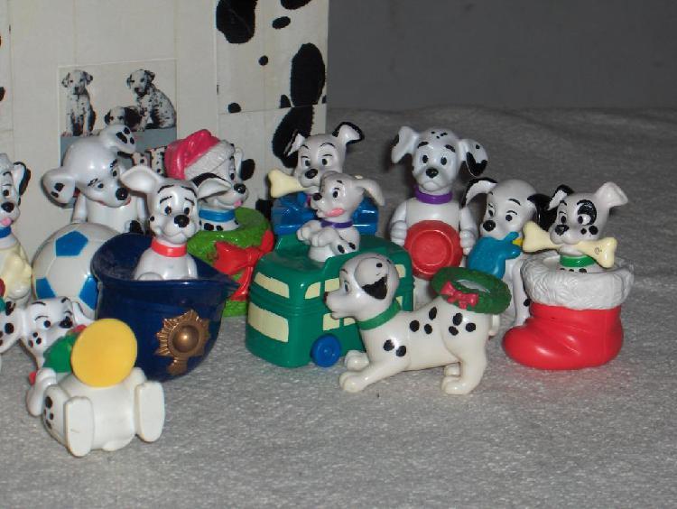 Muñecos 101 dalmatas coleccion impecable. nuevos!!!!! $ 219
