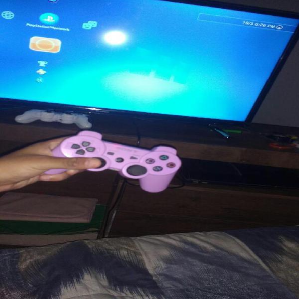 Ps3 con 2 joystick 4 juegos