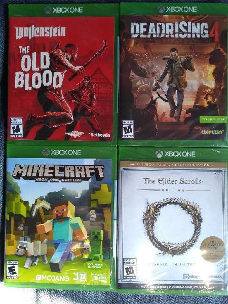 Vendo juegos xbox one sellados