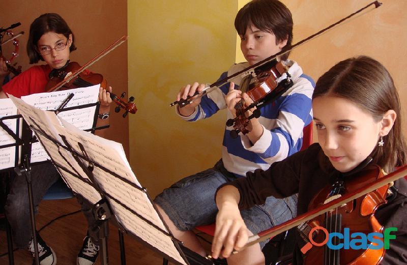 Clases de violin villa del parque
