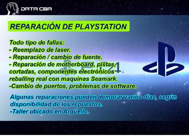 Servicio técnico playstation ps2 ps3 ps4