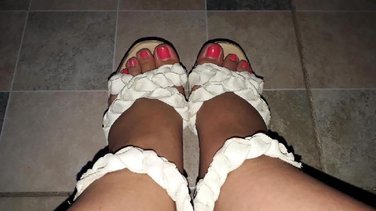 Sandalias color beige
