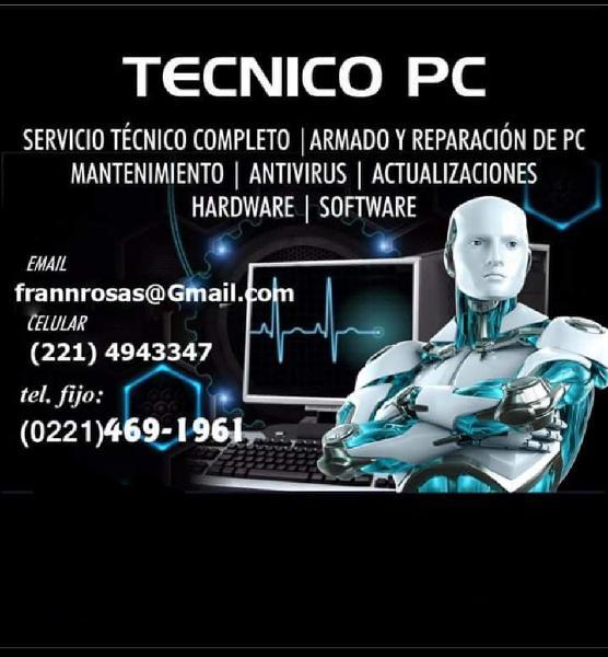 Técnico informático, especializado en pc