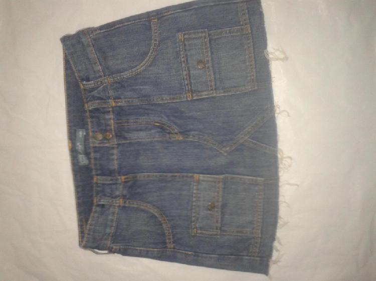9dde66455 Pollera jeans 【 REBAJAS Agosto 】 | Clasf