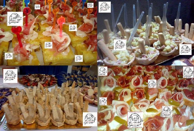 Catering finger food sin cubiertos ni vajilla!!!