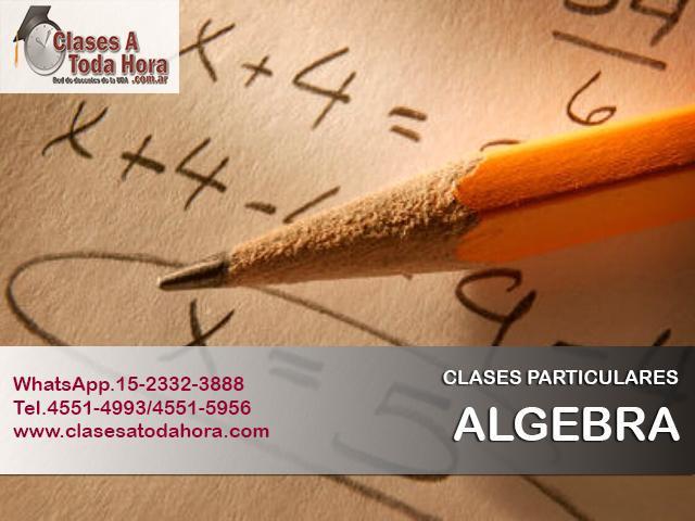Clases particulares de analisis y algebra – profesores uba