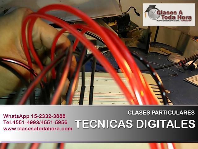 Clases de técnicas digitales y electrotecnia secundario