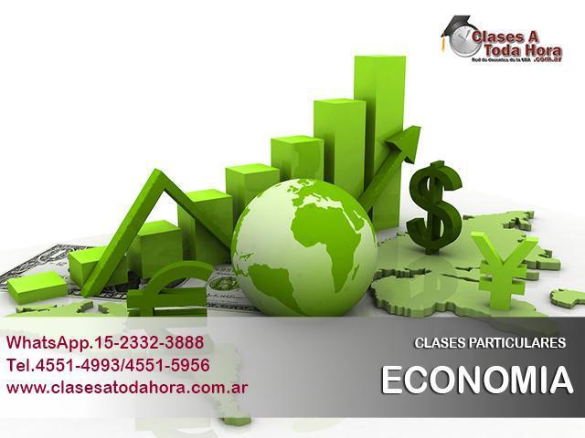 Clases particulares de economia cbc y universitario –