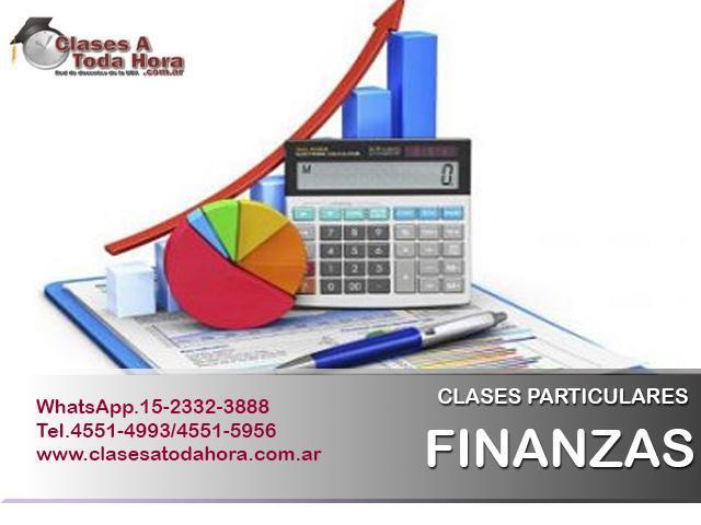 Clases particulares de finanzas i y ii – profesor uba