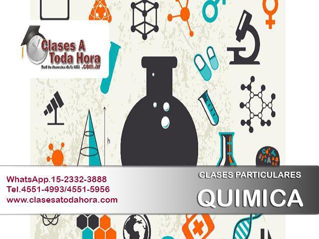 Clases particulares de quimica para secundario